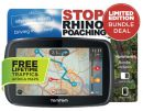 "TOMTOM GO5000 RHINO TOMTOM Go 5000 ""Save The Rhino"" Bundle"