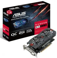 RX560-O2G Asus Radeon RX 560 OC Edition 2GB GDDR5 128-bit Graphics Card