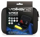 VK-10003-BK Volkano Cortex Series Action camera accessory kit in carry case, Black